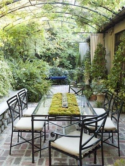 绿色满满的院子设计美图