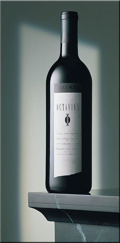 经典的葡萄酒瓶设计