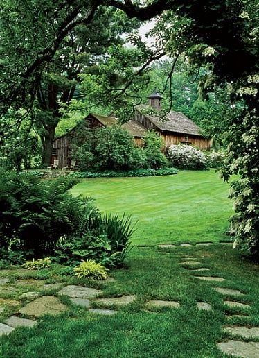 林中小木屋建筑设计美图
