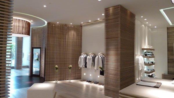 服装品牌100% Capri迈阿密店铺设计