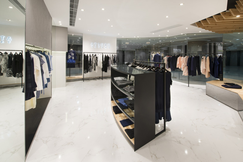 时装品牌Atsuro Tayama香港店铺设计