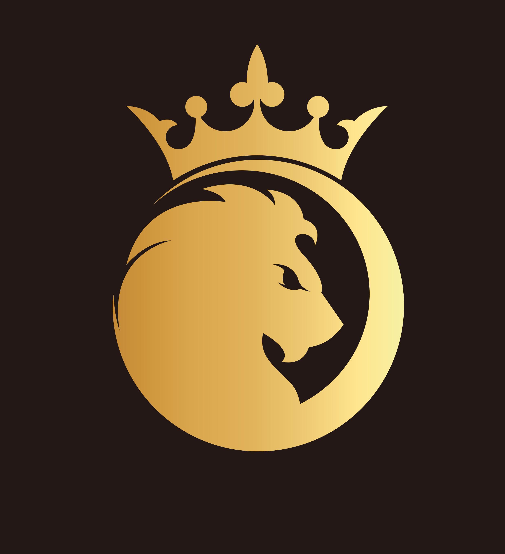 金狮子皇冠logo设计
