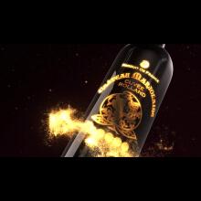 金猴红酒广告
