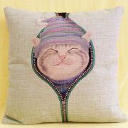 创意礼物棉麻家居布艺抱枕靠垫