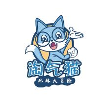 淘气猫童装品牌logo设计方案二