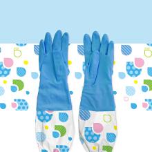 家务手套接袖印花设计