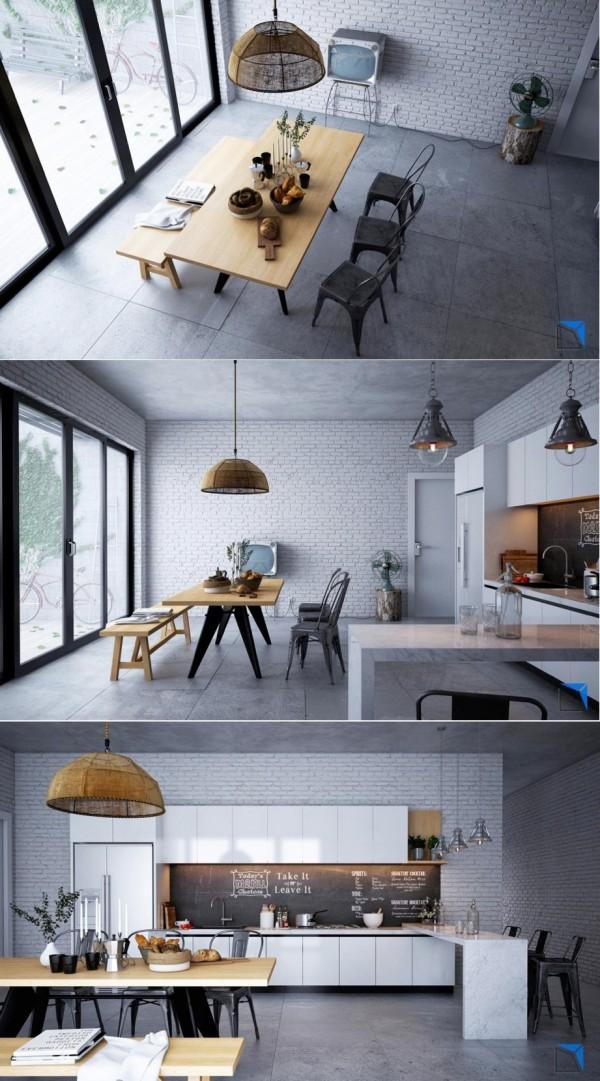 创意的餐厅设计装修效果图
