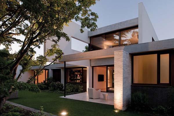 智利Fray Leon豪华别墅设计