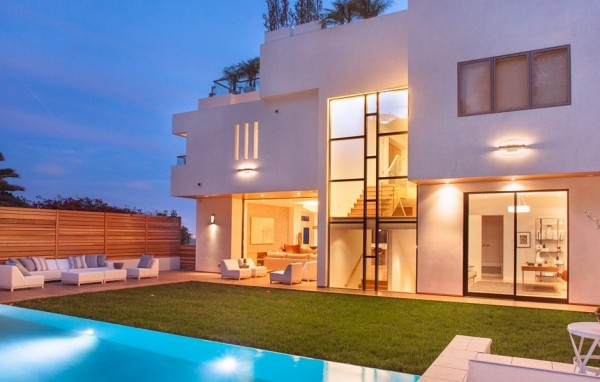 南加州海边豪华别墅设计