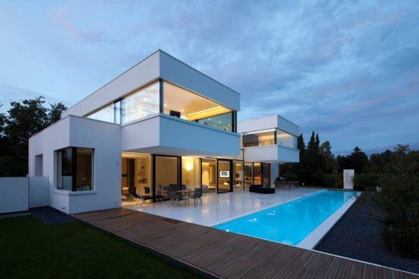 德国Ammersee湖边豪华别墅设计
