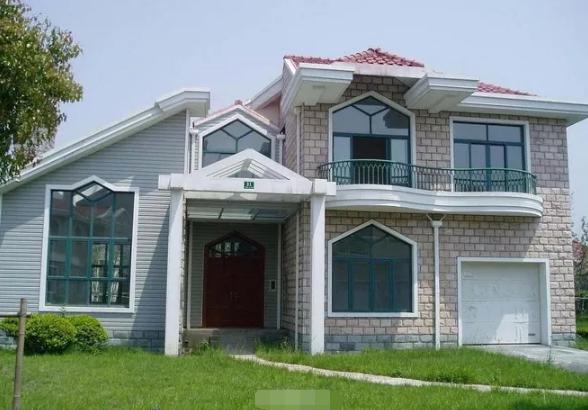 二层别墅外观装修效果图
