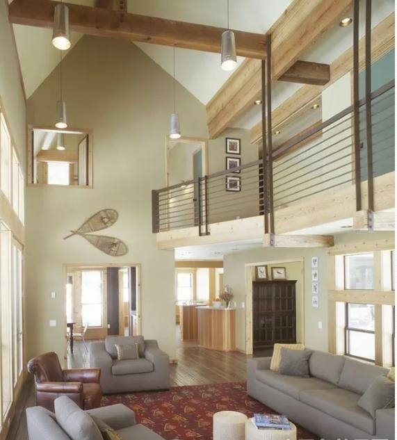 二层别墅装修效果图 客厅装修效果图大全