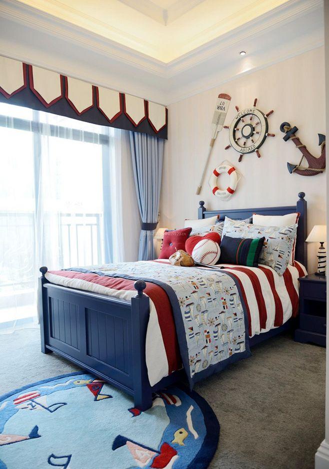 男生喜欢的小卧室装修效果图
