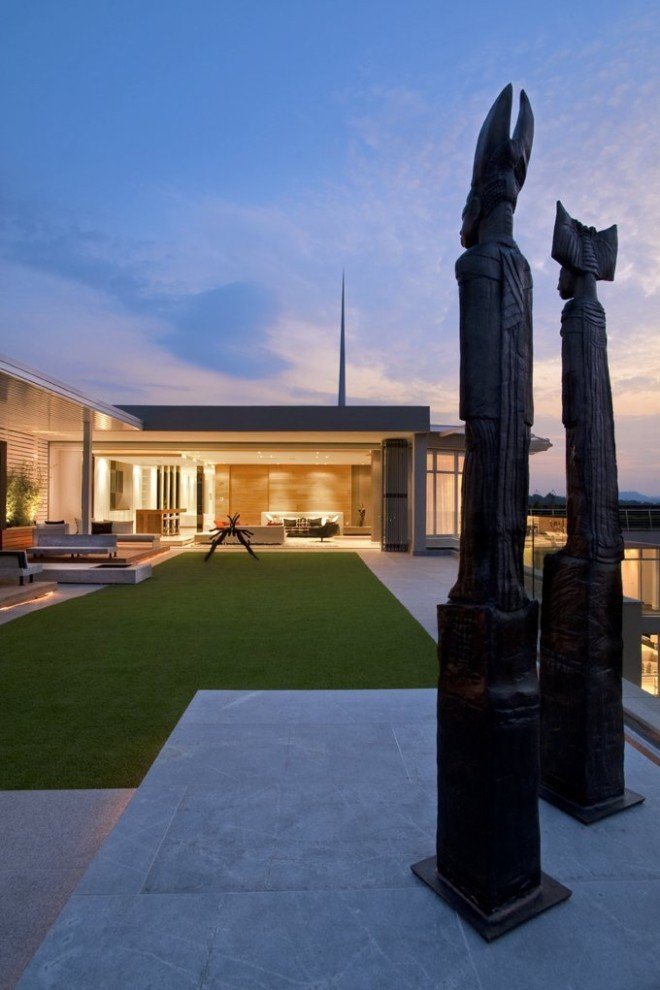 约翰内斯堡Sandhurst豪华别墅设计