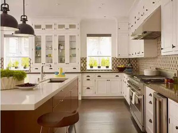 酒店厨房装修设计中五种厨房布局形式解析!