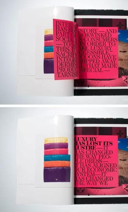 令人惊艳到的简约时尚书刊设计