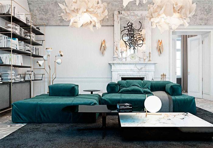 美丽大气的意大利豪华别墅设计
