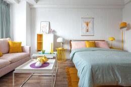 一居室小户型北欧风格装修设计效果图欣赏
