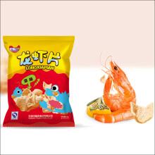 龙虾片包装袋设计