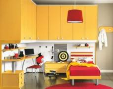 色彩鲜艳的儿童卧室装修效果图