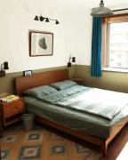 家居流行趋势 卧室照明,吊灯和壁灯并用