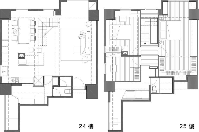 北屋储藏间设计图