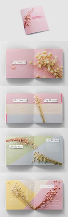 鲜花画册案例