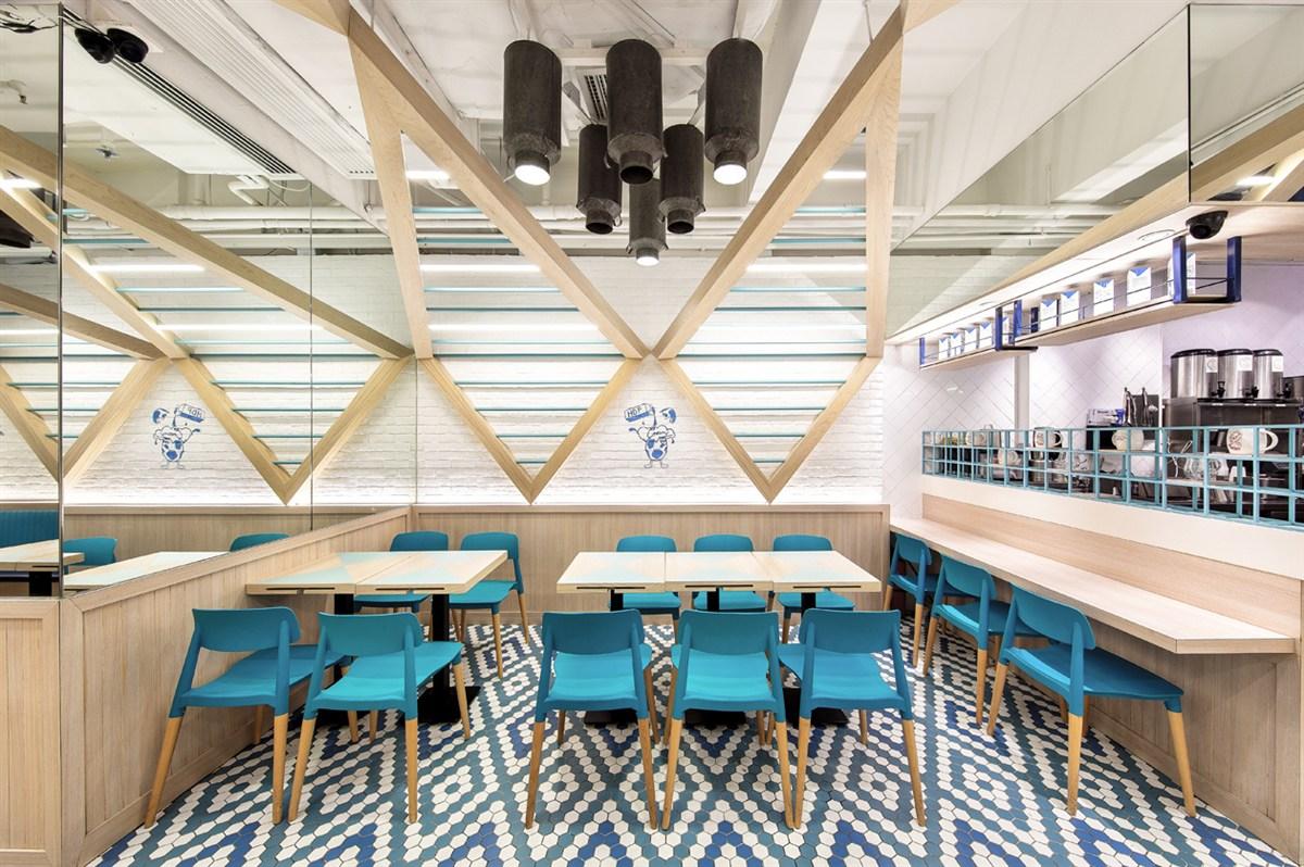 hokkaido dairy farm香港北海道牧场餐厅室内设计