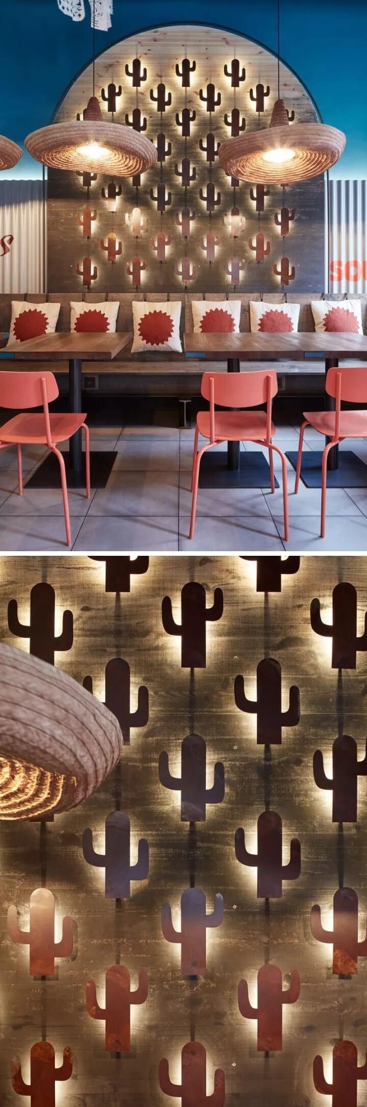 仙人掌主题餐厅设计欣赏