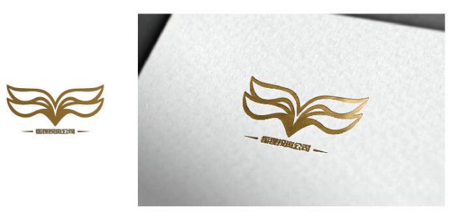 金色狐狸今日投资公司logo设计欣赏