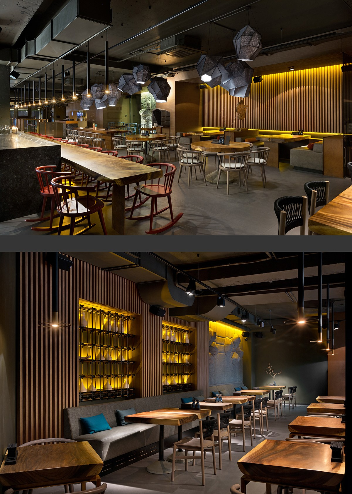 EAST restaurant餐厅室内设计欣赏