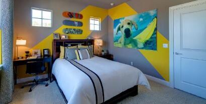儿童房室内装修配色方案