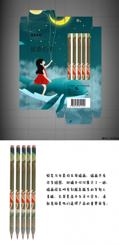 淘宝上的爆款绘画铅笔,新款包装竟然是他们设计的