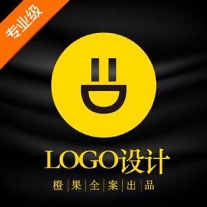 橙果全案公司餐饮网站品牌酒店教育卡通图标标志商标LOGO设计