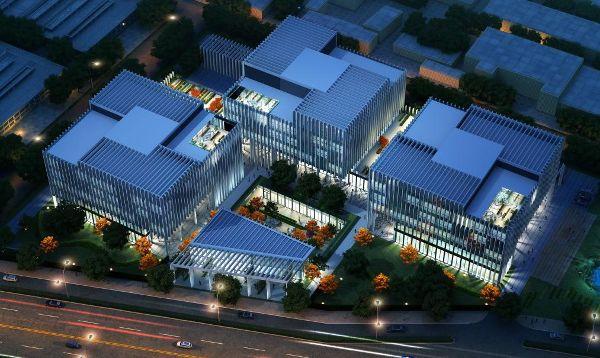 首页 威客攻略 建筑设计图  德国gmp设计的嘉铭东枫产业园,就是这样的图片