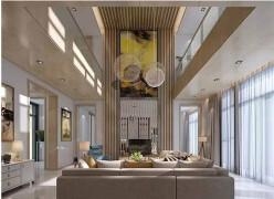 大气的现代美式别墅装修图片欣赏