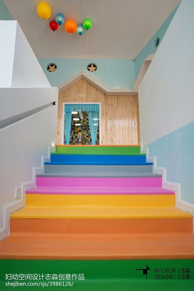 公装幼儿园楼梯设计