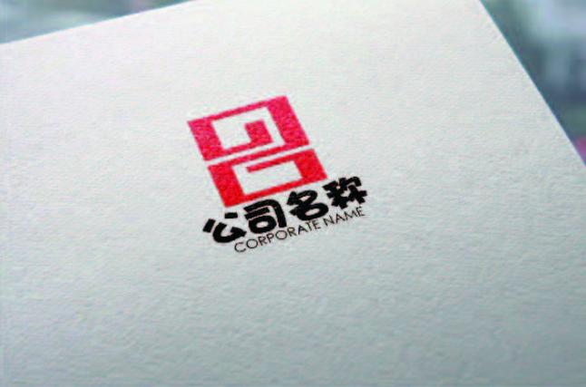 一款回纹数字logo设计