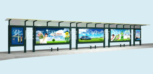 细谈候车亭广告设计的三大基本原则