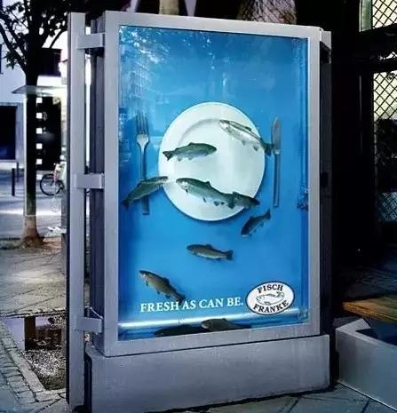 假如候车亭广告都长这样,我不介意多等一会儿!