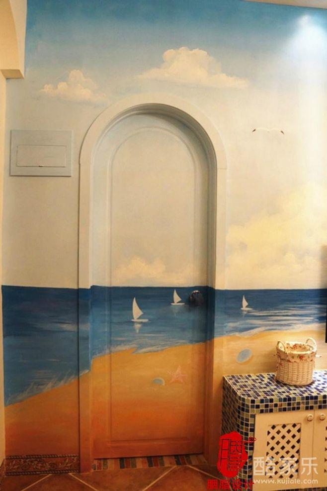 唯美的室内手绘墙欣赏