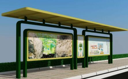 城市公交候车亭广告语有什么优势?