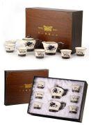 大气时尚的茶具包装设计图片欣赏