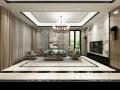 新中式平层客厅