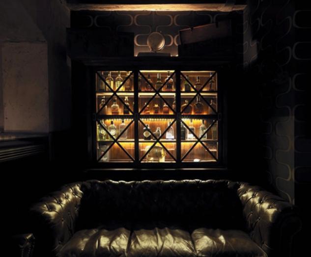 古典潜水鸡尾酒酒吧特色装修效果图