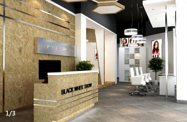 一组美容美发室内装修设计图片欣赏