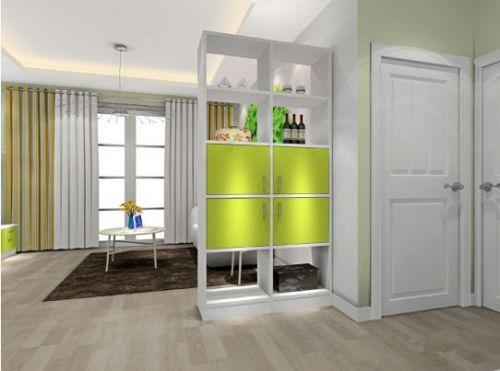 客厅玄关隔断柜怎么设计 6款超实用的玄关隔断柜