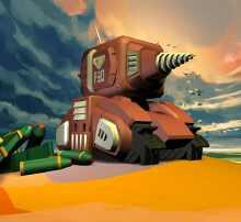 合金弹头游戏坦克