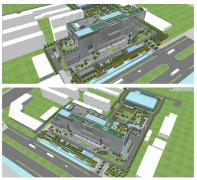 办公大楼及景观方案