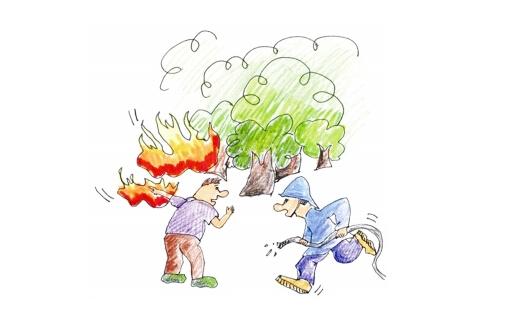 森林防火标语大全